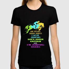 Horse Jodhpur Jumping Oxers Horseback Rider T-shirt