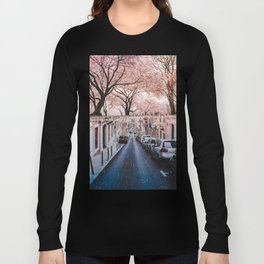 The Pink Side of the Street by GEN Z Long Sleeve T-shirt