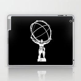 Atlas // Black Laptop & iPad Skin