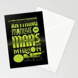 A Million To One Stationery Cards