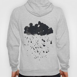 Stormy Black Clouds Version 2 For Earth Day Hoody