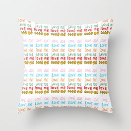 love me-love me,passion,love,girl,romantic,romantism,women,heart,sweet,romance,rendez-vous,beauty, Throw Pillow