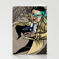 castiel Stationery Cards featuring Castiel by salternates