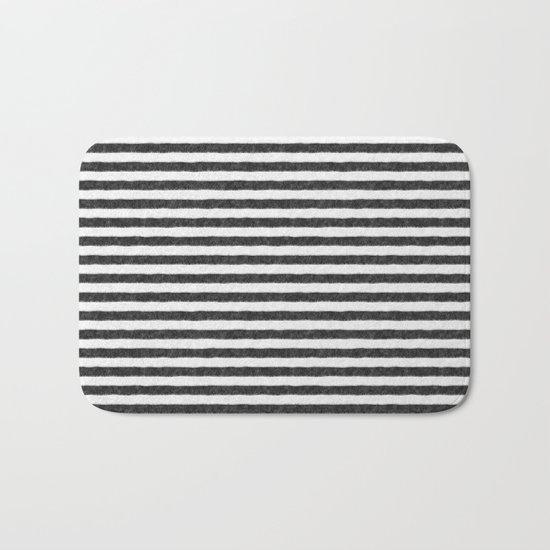 Zebra Fur Pattern Bath Mat