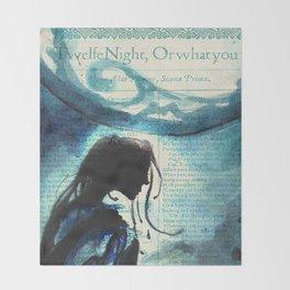 Twelfth Night Viola Throw Blanket