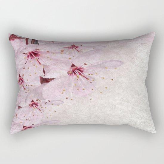 Sakura Blossoms 01 Rectangular Pillow