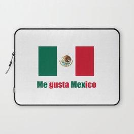 Flag of mexico 5- mexico,mexico city,mexicano,mexicana,latine,peso,spain,Guadalajara,Monterrey Laptop Sleeve