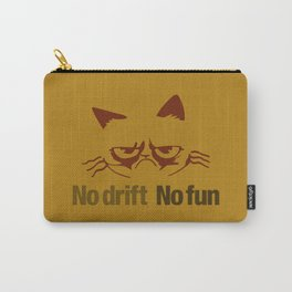 No drift No fun v3 HQvector Carry-All Pouch