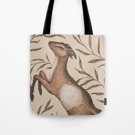 The Goat and Willow Tote Bag