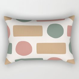 3 Colors Pattern  Rectangular Pillow