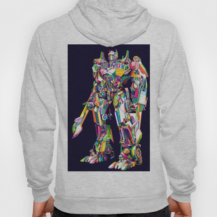 Transformer in pop art Hoody