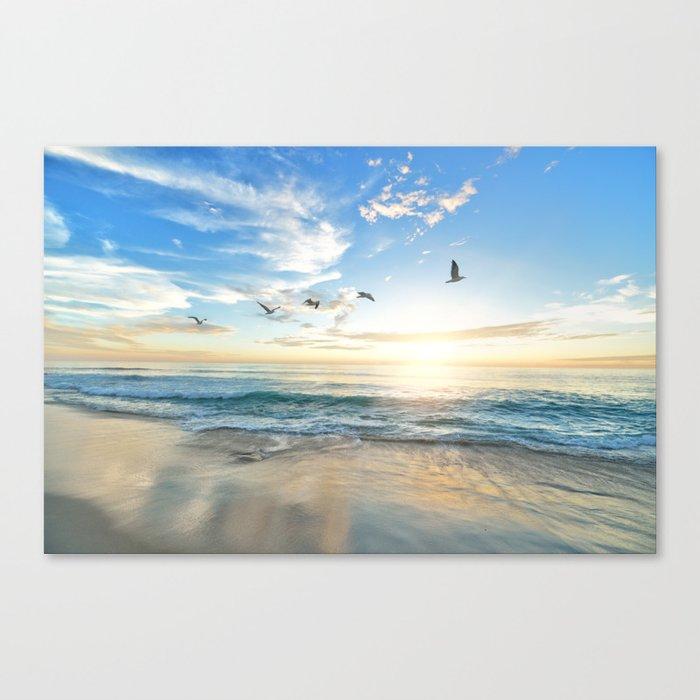 Beach Scene 34 Leinwanddruck