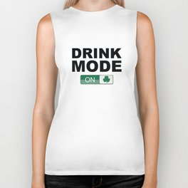 Drink Mode On Biker Tank