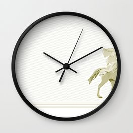 Bullet Flying Wall Clock