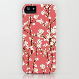 Go Orient Cherry Blossoms iPhone Case