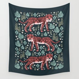 Safari Tiger by Andrea Lauren  Wall Tapestry