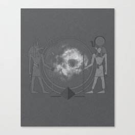 Ancient Guardians of Space and Time Canvas Print