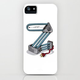 MACHINE LETTERS - Z iPhone Case
