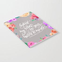 Imprint My Words Notebook