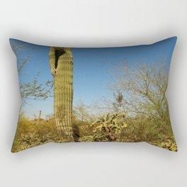Saguaro and Mother in Law Pillow Rectangular Pillow