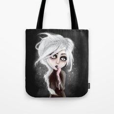 too dark to be sure Tote Bag