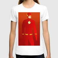 the flash T-shirts featuring Flash by pablosiano