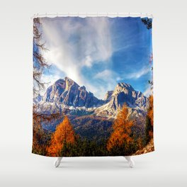 Perfectly Framed Shower Curtain