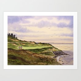 Whistling Straits Golf Course Hole 7 Art Print