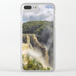 Beautiful wild waterfall Clear iPhone Case