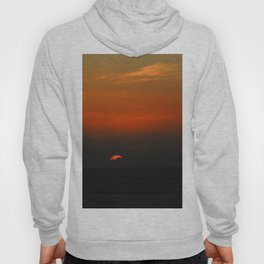 cloudy sunset seascape Hoody