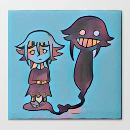 Everyone has their demons Canvas Print