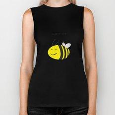 Let it bee. Biker Tank