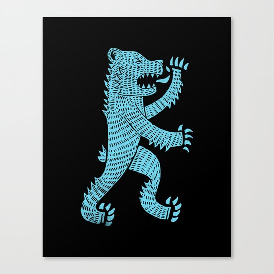 aggressive Canvas Print