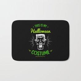 This Is My Halloween Costume Frankenstein Gift Bath Mat