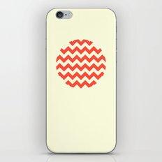 Chevron Full Circle iPhone & iPod Skin