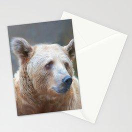Bear Necessities      (digital painting) Stationery Cards