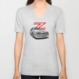 Daytona Turbo Z / CS - Silver T-top Unisex V-Neck