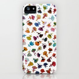 petits fleurs 2 iPhone Case