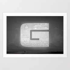The Ghost of Gamers Past Art Print