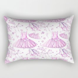 Ballerina #5 Rectangular Pillow