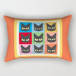 Nine emotions Rectangular Pillow