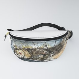 She is a ferret Fanny Pack