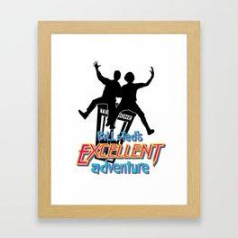 Excellent Dudes! Framed Art Print