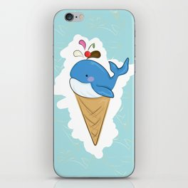 Henry the Whale iPhone Skin
