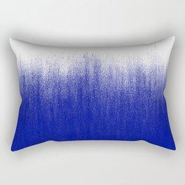 Ink Blue Ombré Rectangular Pillow