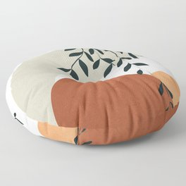 Soft Shapes I Floor Pillow
