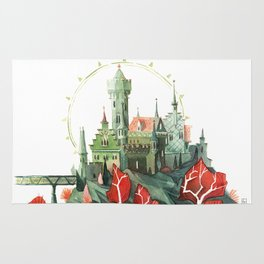 The Green Castle Rug