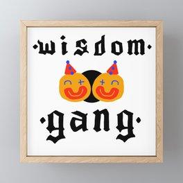 Wisdom Gang Framed Mini Art Print
