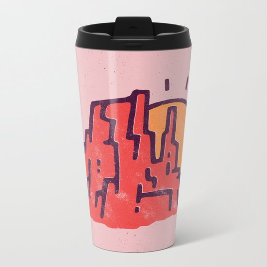 Utah Metal Travel Mug