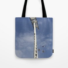 Emirates Cable Car And Flybe Aircraft Tote Bag